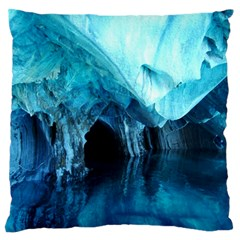 MARBLE CAVES 3 Standard Flano Cushion Cases (One Side)