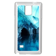 Marble Caves 3 Samsung Galaxy Note 4 Case (white)