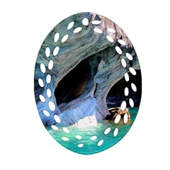 Marble Caves 2 Ornament (oval Filigree)