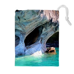 MARBLE CAVES 2 Drawstring Pouches (Extra Large)