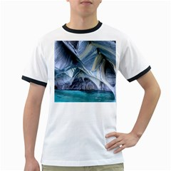 MARBLE CAVES 1 Ringer T-Shirts