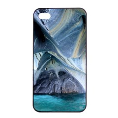MARBLE CAVES 1 Apple iPhone 4/4s Seamless Case (Black)