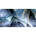 MARBLE CAVES 1 Twin Hearts 3D Greeting Card (8x4)  Back
