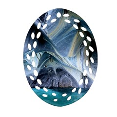Marble Caves 1 Ornament (oval Filigree)