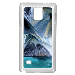 Marble Caves 1 Samsung Galaxy Note 4 Case (white)