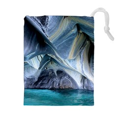 MARBLE CAVES 1 Drawstring Pouches (Extra Large)