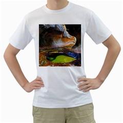 LEFT FORK CREEK Men s T-Shirt (White)