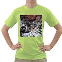 Karijini Canyon Green T Shirt