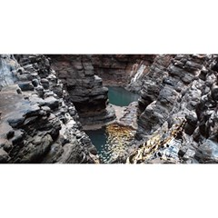 KARIJINI CANYON YOU ARE INVITED 3D Greeting Card (8x4)