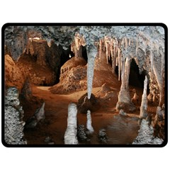 Jenolan Imperial Cave Double Sided Fleece Blanket (large)