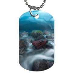 ICELAND CAVE Dog Tag (One Side)