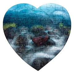 Iceland Cave Jigsaw Puzzle (heart)