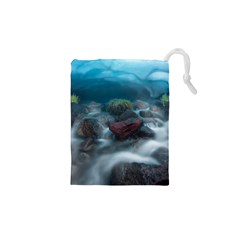 ICELAND CAVE Drawstring Pouches (XS)