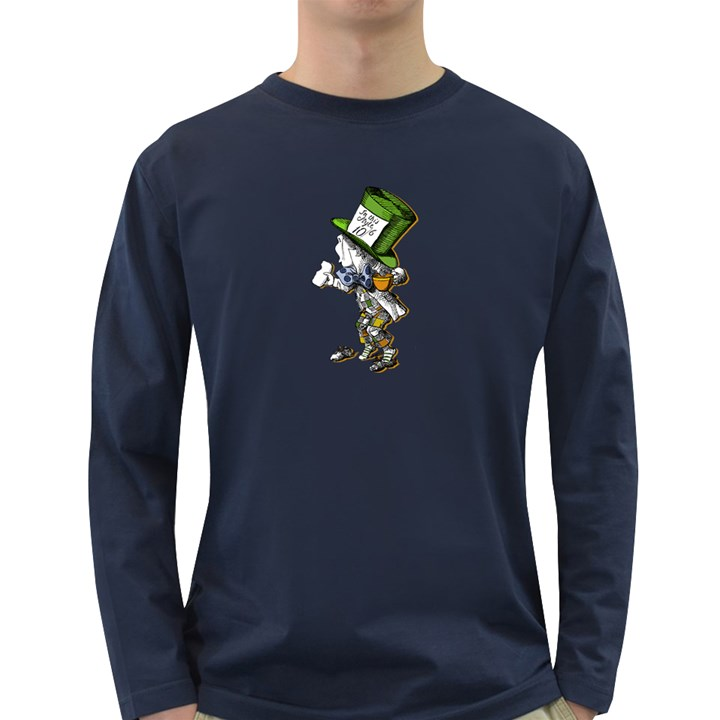 The Mad Hatter Long Sleeve Dark T-Shirts