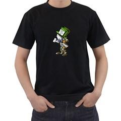 The Mad Hatter Men s T Shirt (black)