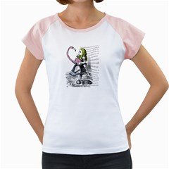 Flamingo Croquet Women s Cap Sleeve T