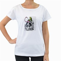 Flamingo Croquet Women s Loose Fit T Shirt (white)