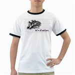 Cheshire Cat Ringer T-Shirts Front