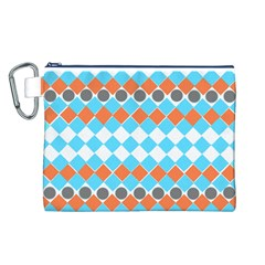 Tribal Pattern Canvas Cosmetic Bag (l)