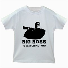 Bigboss Kids White T Shirts