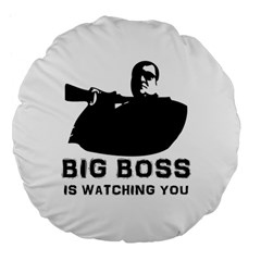 BigBoss Large 18  Premium Flano Round Cushions