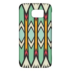 Rhombus And Arrows Pattern			samsung Galaxy S6 Hardshell Case