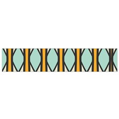 Rhombus And Arrows Pattern Flano Scarf