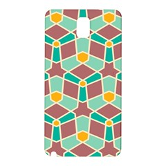 Stars And Other Shapes Patternsamsung Galaxy Note 3 N9005 Hardshell Back Case
