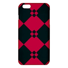 Black Pink Shapes Pattern			iphone 6 Plus/6s Plus Tpu Case