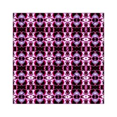 Purple White Flower Abstract Pattern Acrylic Tangram Puzzle (6  X 6 )