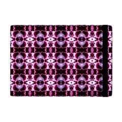 Purple White Flower Abstract Pattern Apple Ipad Mini Flip Case