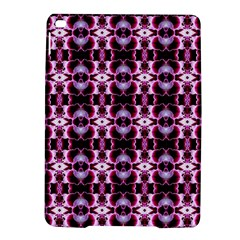 Purple White Flower Abstract Pattern Ipad Air 2 Hardshell Cases