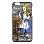 Alice In Wonderland Apple iPhone 6 Plus/6S Plus Black Enamel Case Front