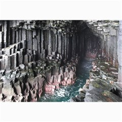 Fingals Cave Collage 12  X 18