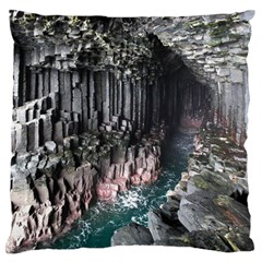 FINGALS CAVE Standard Flano Cushion Cases (One Side)