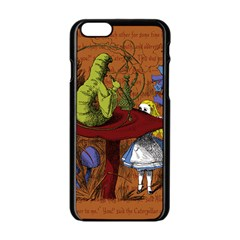 Alice In Wonderland Apple Iphone 6/6s Black Enamel Case