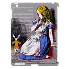 Alice In Wonderland Apple Ipad 3/4 Hardshell Case (compatible With Smart Cover)