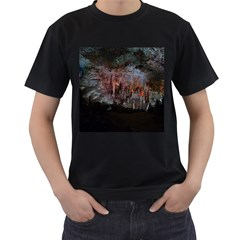 Caves Of Drach Men s T Shirt (black) (two Sided)