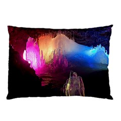 Cave In Iceland Pillow Cases