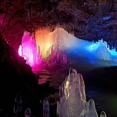 Cave In Iceland Magic Photo Cubes
