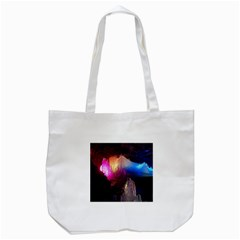 Cave In Iceland Tote Bag (white)