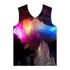 CAVE IN ICELAND Men s Basketball Tank Top