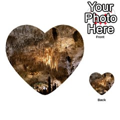 CARLSBAD CAVERNS Multi-purpose Cards (Heart)