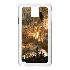 Carlsbad Caverns Samsung Galaxy Note 3 N9005 Case (white)