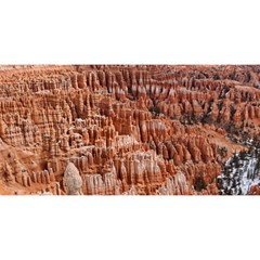 BRYCE CANYON AMP YOU ARE INVITED 3D Greeting Card (8x4)
