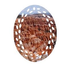 Bryce Canyon Amp Oval Filigree Ornament (2 Side)