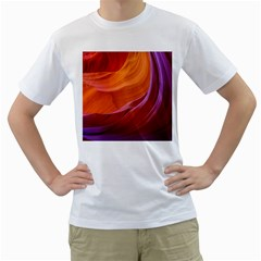 ANTELOPE CANYON 2M Men s T-Shirt (White) (Two Sided)