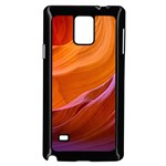 ANTELOPE CANYON 2M Samsung Galaxy Note 4 Case (Black) Front