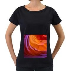 Antelope Canyon 2 Women s Loose Fit T Shirt (black)