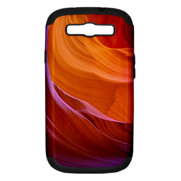ANTELOPE CANYON 2 Samsung Galaxy S III Hardshell Case (PC+Silicone)